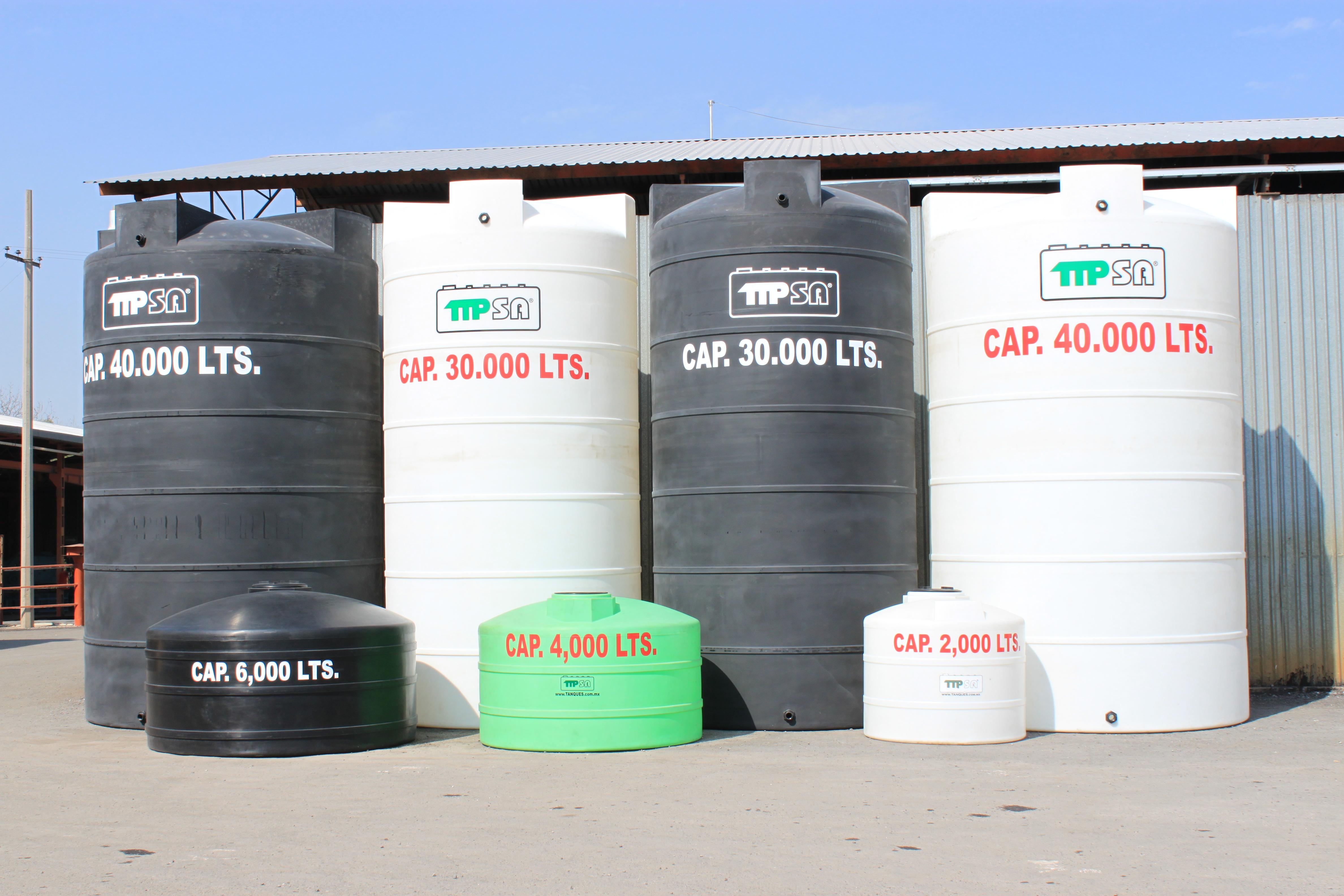 Talleres industriales potosinos s a de c v almacenaje for Precio estanque de agua 10000 litros